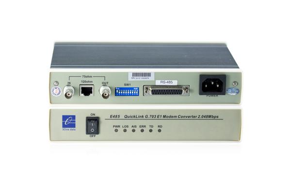 Bộ chuyển đổi RS-232/485 sang E1