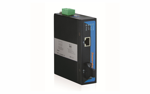 Bộ chuyển đổi quang điện PoE công nghiệp