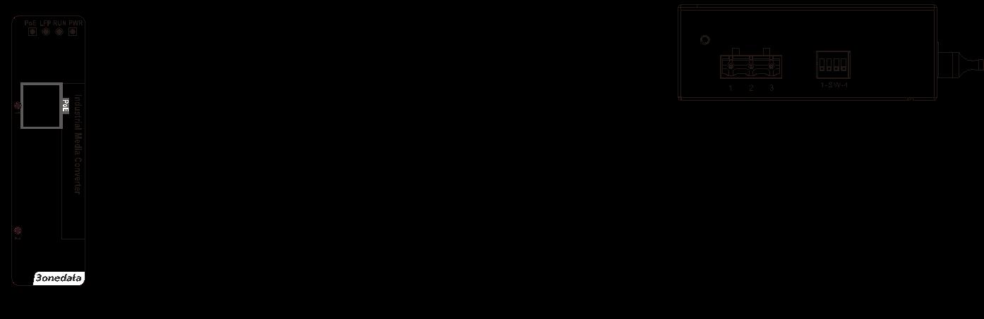 ipmc101-1f-poe-dim